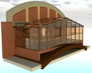 Проектирование зимнего сада с использованием 3D технологий