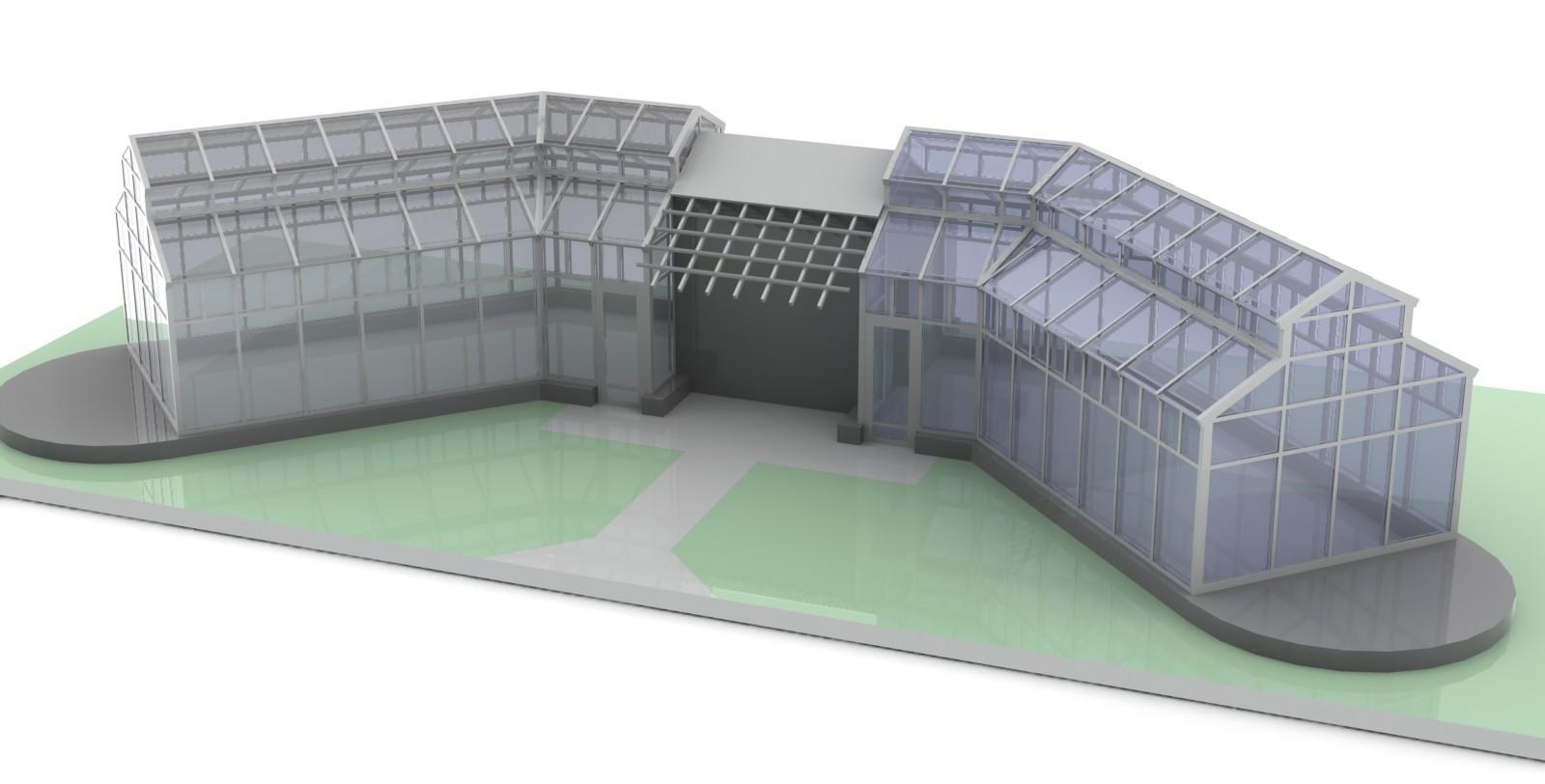 3D проект зимнего сада
