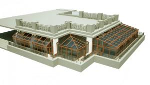 3D проектирование зимних садов