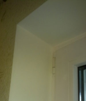 Внутренний откос окна