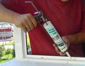 Геметизация внешнего шва пластикового окна