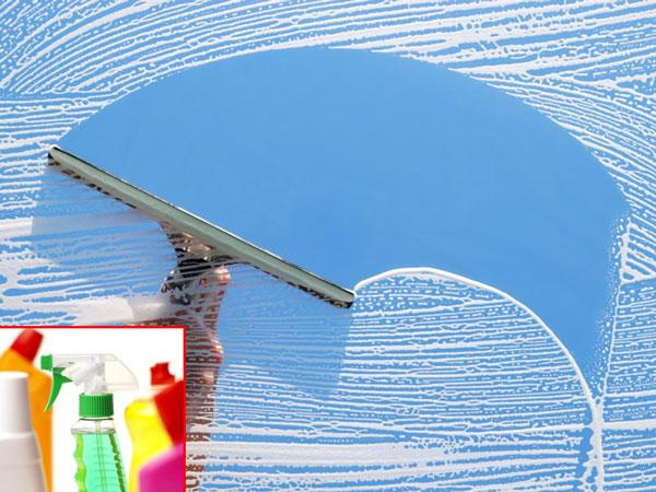 Эффективно помыть окна