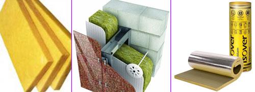 Изовер - материал для теплоизоляции строений