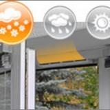 Окно с установленной системой климатконтроля
