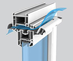 Система воздухообмена пластикового окна