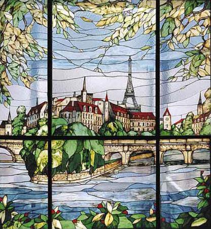 Витраж с изображением Франции