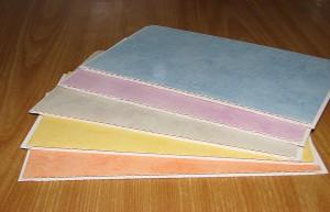 Разноцветный поливинлхлорид