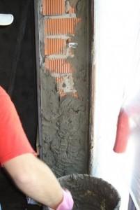 оштукатуривание окна