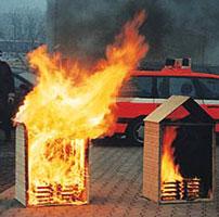 Огнезащита деревянного дома