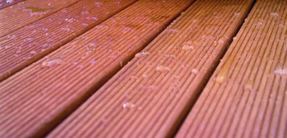 Террасная доска из древесины банкирай