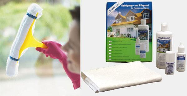 Средства для чистки рам пластиковых окон