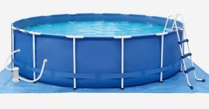 Каркасная конструкция бассейна