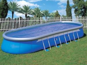 Надувная конструкция бассейна
