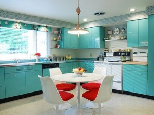 Использование разных типов освещения в помещении кухни
