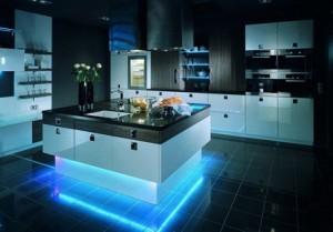 Декоративное освещение кухни