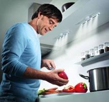 Как правильно организовать освещение в кухне