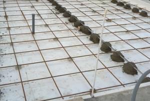 Армирование стяжки пола стальной сеткой