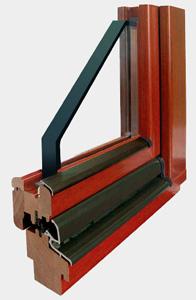 Окна из древесины дуба