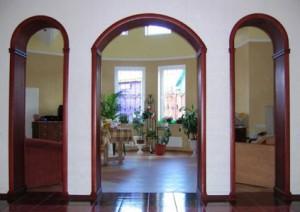 Классическая межкомнатная арка