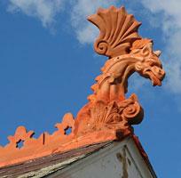 Как сделать конёк на крыше