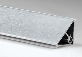 Пластиковый плинтус для кухонной столешницы