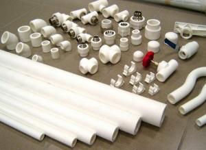 Пластиковые трубы (комплект)