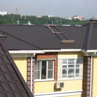 Сливы для крыши