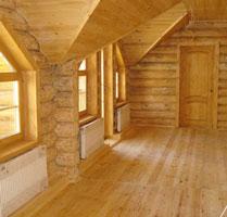 Как выровнять стены в деревянном доме