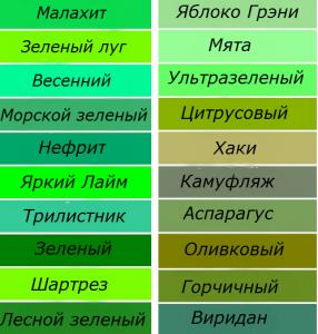 Zelenay-palitra
