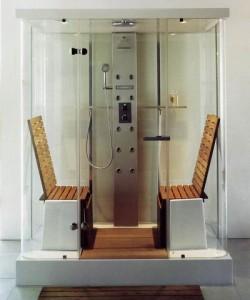Душевая кабина с функцией «баня»