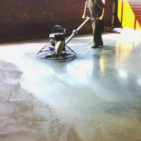 Фото: Шлифование бетона