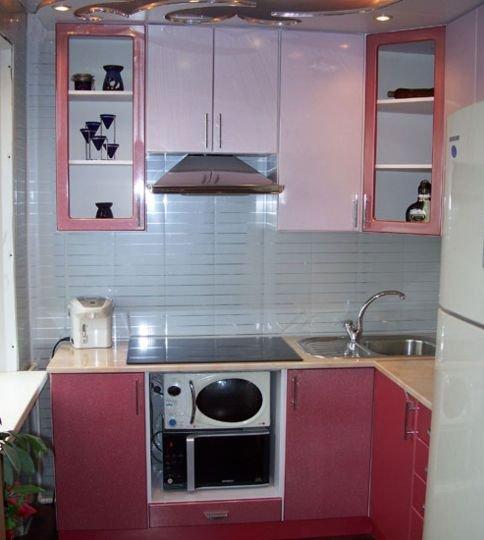 Угловые кухни своими руками и фото