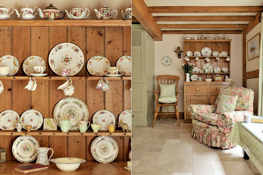 Дизайн интерьера деревенского дома