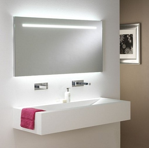 White-Modern-Bathroom-Lighting-Mirror-Lights