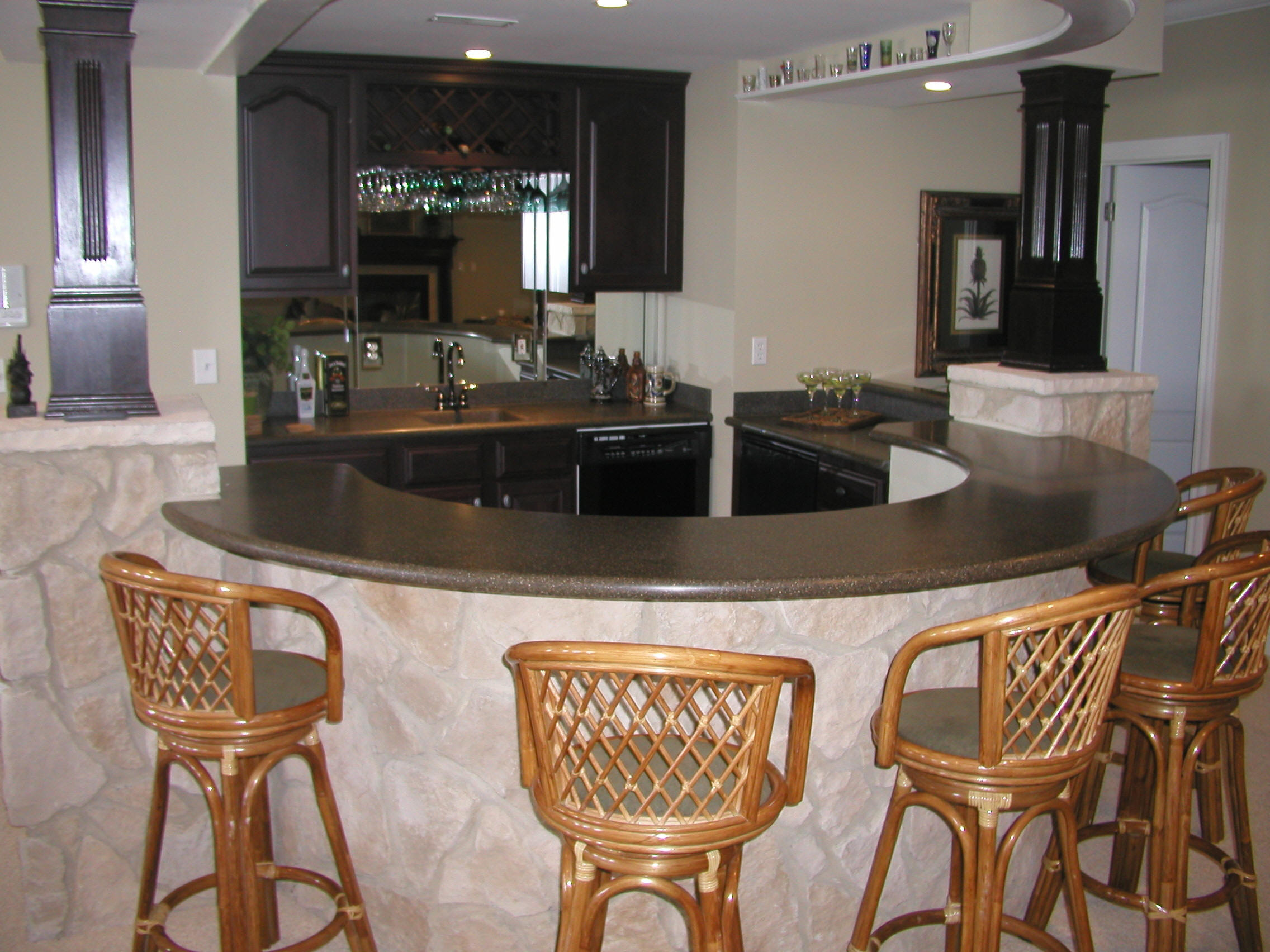 Фото барная стойка на кухне своими руками
