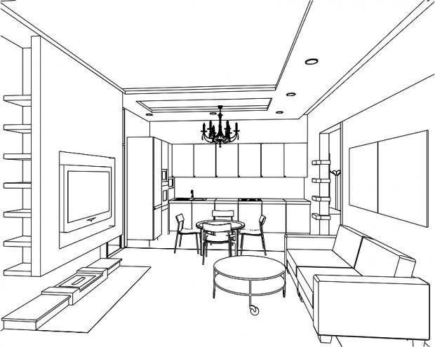 Интерьеры комнат схемы