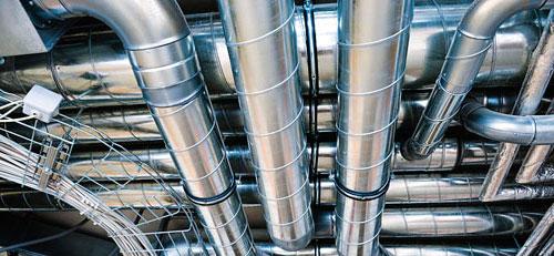 Прокладка воздуховодов системы вентиляции