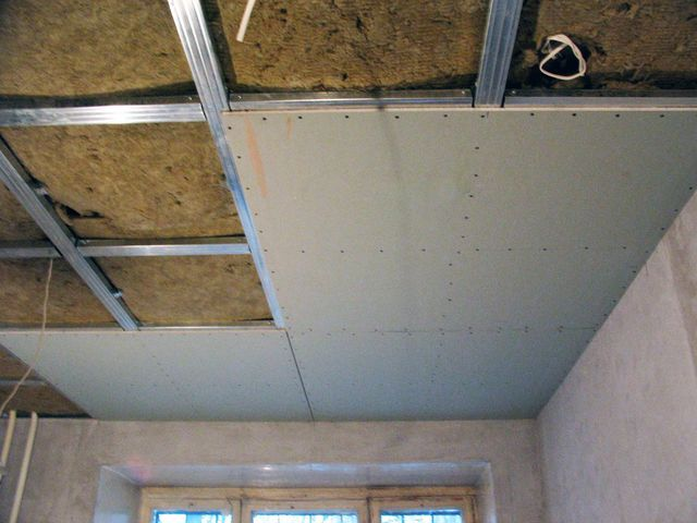 Фото: Звукоизоляция потолка