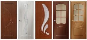 Двери с ПВХ пленкой