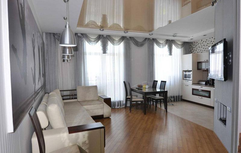 Интересный интерьер квартиры Фото квартиры 21 кв м в Мадриде