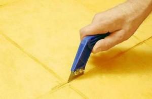 Керамическое плиточное покрытие - замена раствора