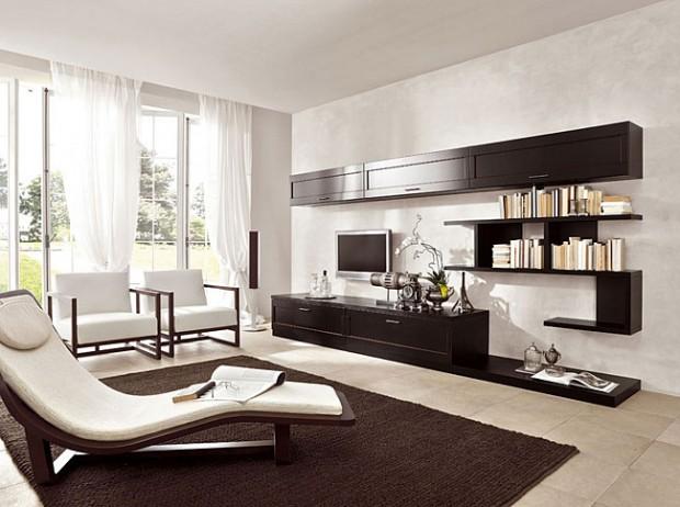 гостиной в минимализме
