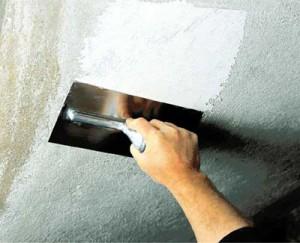 Ремонт потолка. Трещины