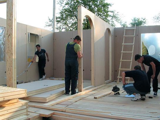 Проект щитовых и каркасных домов своими руками