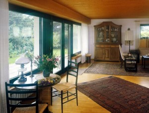 Дома с большими окнами