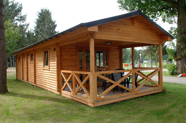 Дачный домик бунгало