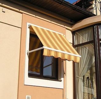 Защита от солнца на окна квартиры своими руками