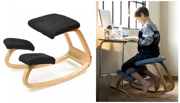 стул-качалка с подставкой для ног