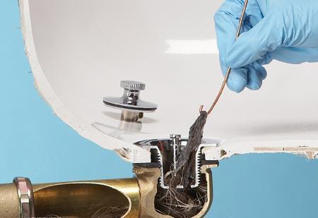 Запах канализации в ванной