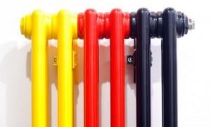 Покраска батареи